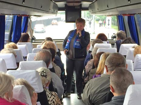 22 июня для жителей МО Полюстрово была организована очередная экскурсия в Кронштадт