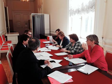 13 июня 2017 года состоялось заседание рабочей группы по разработке проектов законов Санкт-Петербург