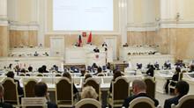 Отчет пресс-службы о заседании ЗС СПб 23 ноября 2016 г.