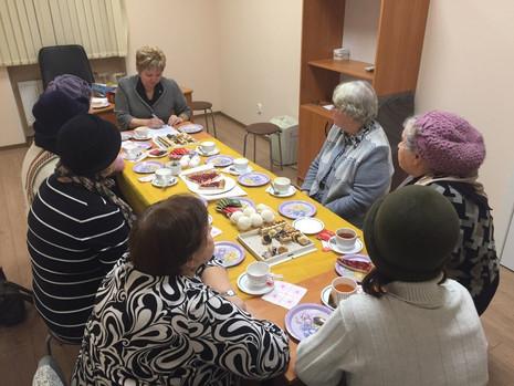 Встреча с Советом старейшин МО Большая Охта