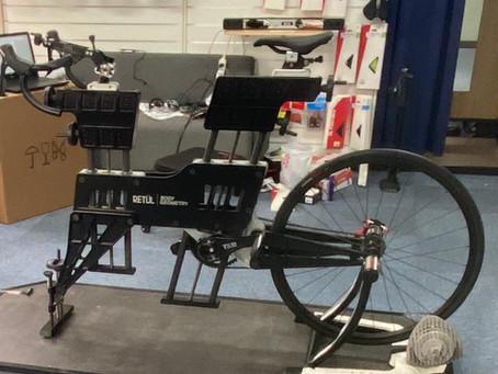 受注生産の自転車でもフィッティングができます‼️