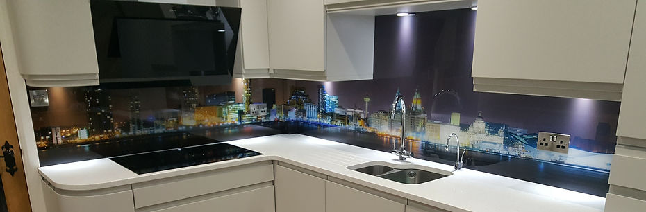 Liverpool skyline print, made to measure, Childwall, Northwest