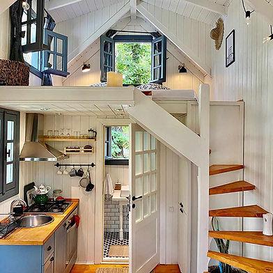 A Tiny House Interior