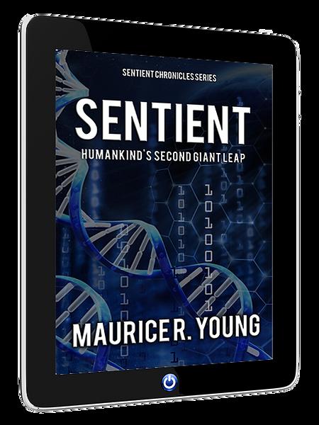 Sentient Book Cover
