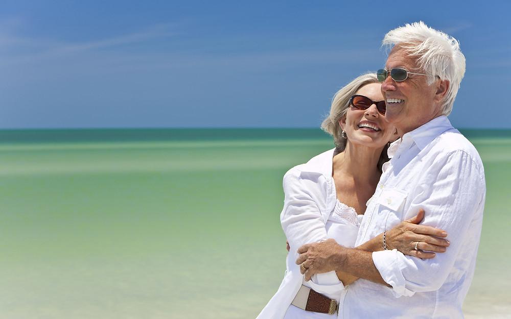 Retire Happy Couple
