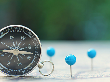 What direction is your compass?