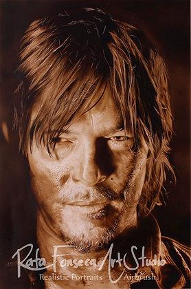 Daryl Dixon - (Original Artwork)
