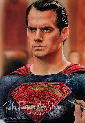 Superman, Henry cavill- (Original Artwork)