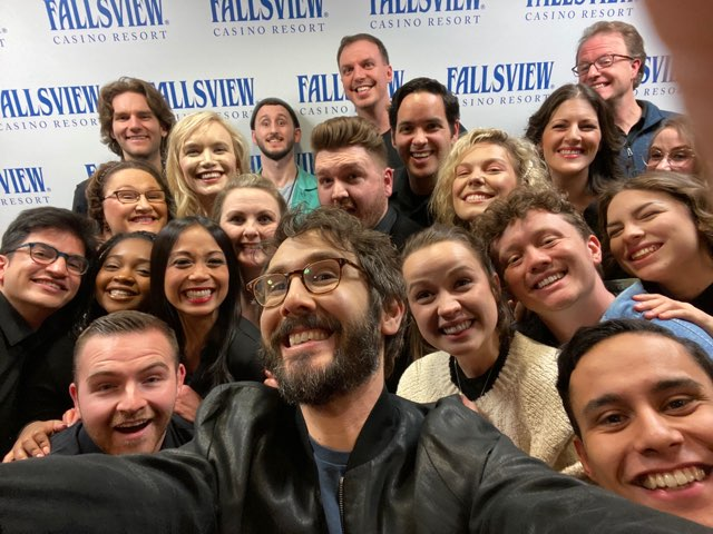 Josh Groban - Choir Selfie