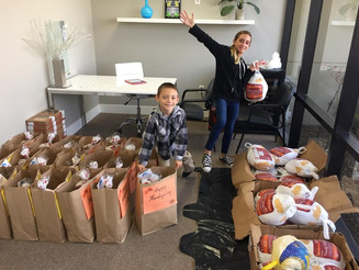 Thanksgiving Meal Donations 2017