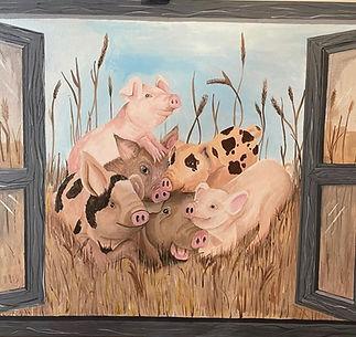 Cheeky pigs
