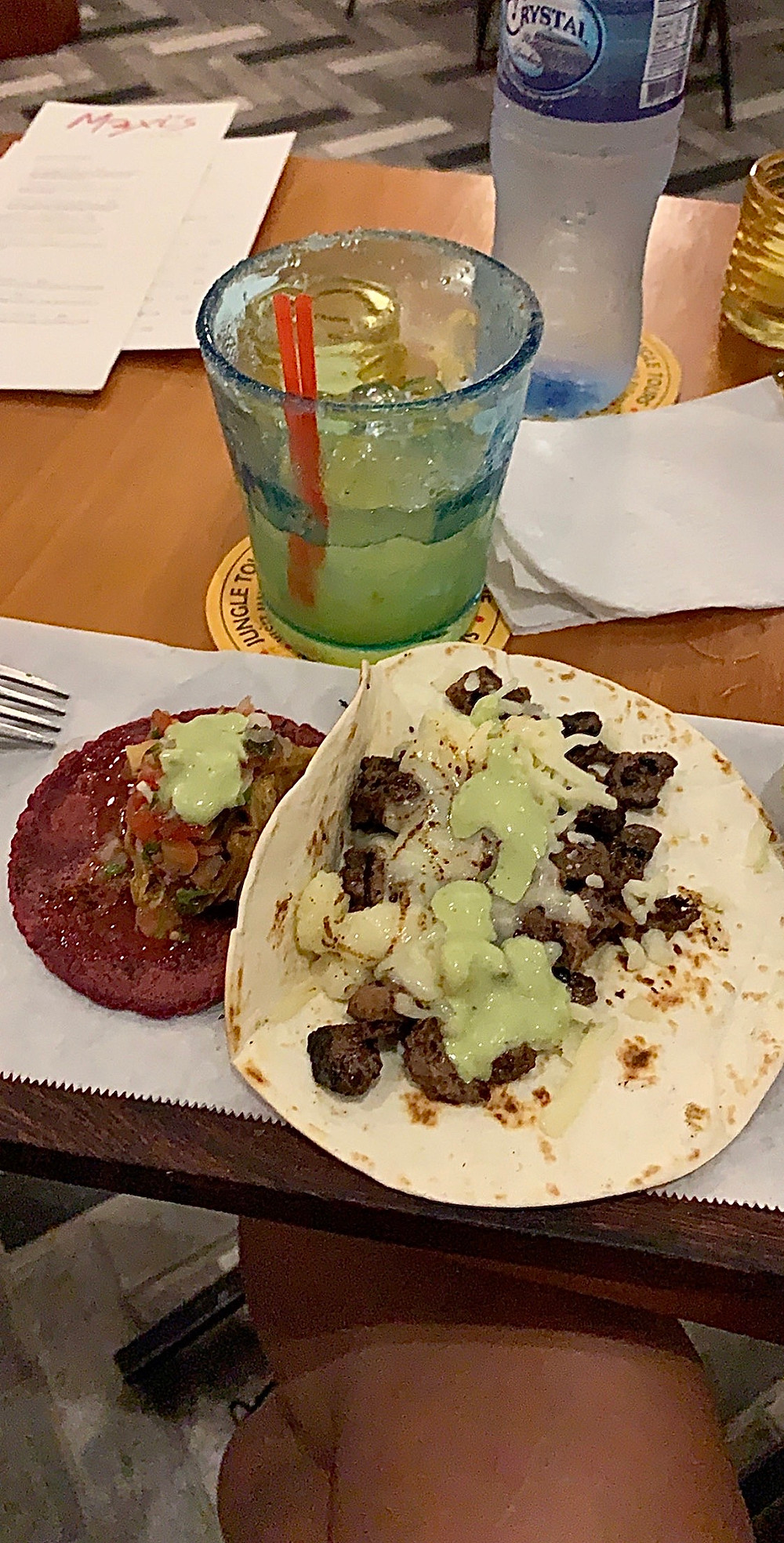 cochinita pipil & arrachera tacos