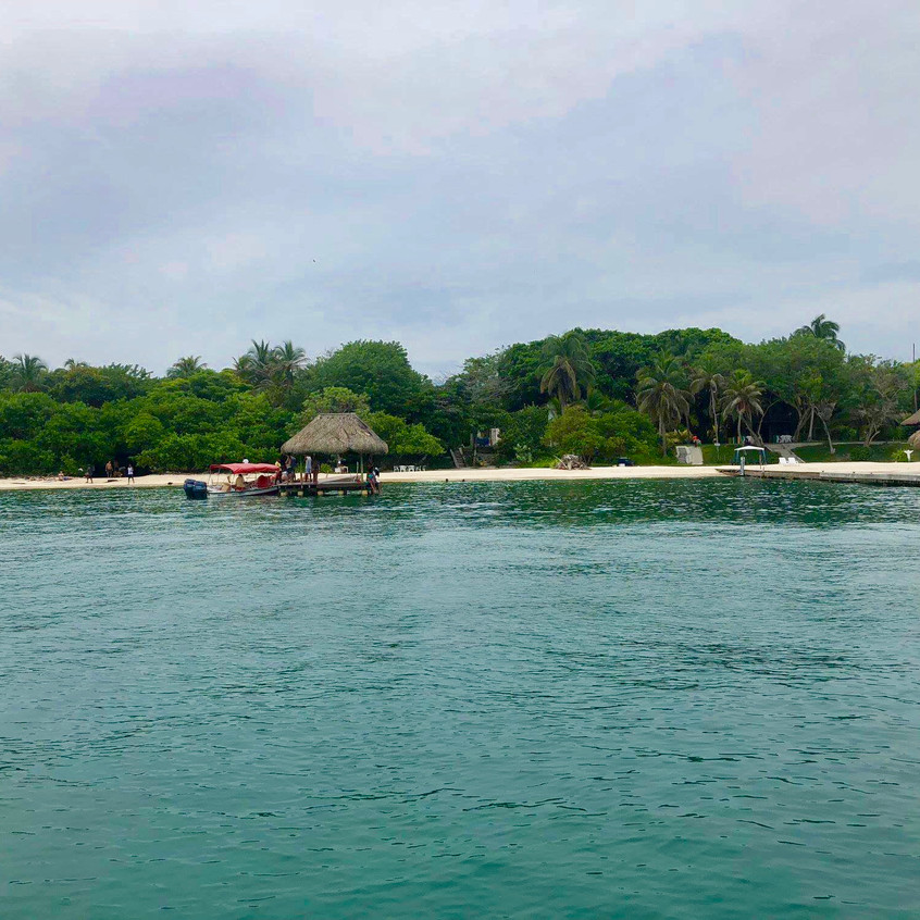 Beach on Isla Grande