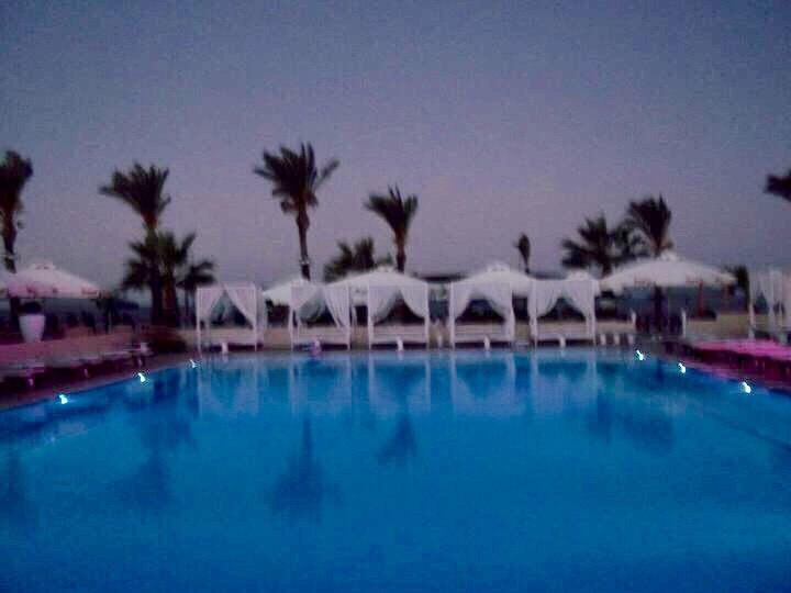 W Nightclub pool area - Glyfada