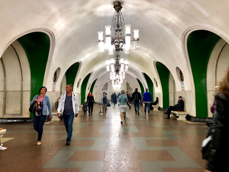 The Moscow Metro: A Museum of Russian History