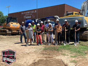 Bloomfield Schools Breaks Ground on a $10MM Addition and Renovation Project!