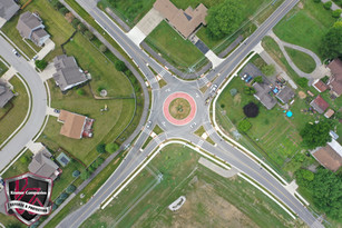Hornaday Road and CR 300 Roundabout in Brownsburg, IN