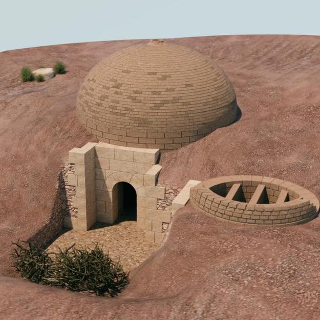 Pottery Kiln at el-Khirba