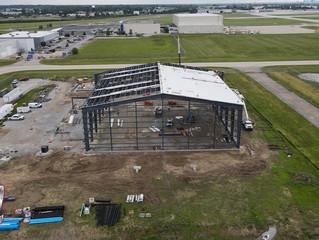 Hangar Construction at the Indianapolis Airport