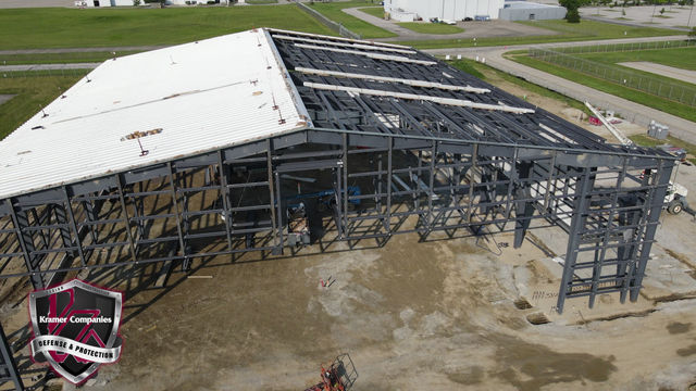 360 Degree View of the Hangar Construction at the Indianapolis Airport!