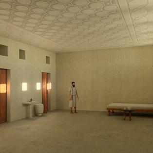 Reception Hall at Palatial Mansion