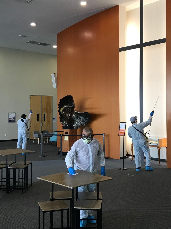 Church Disinfection service California