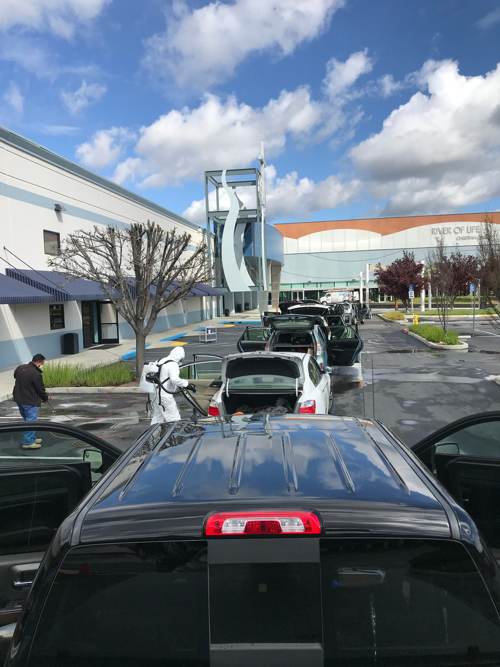 Car Disinfacting service Bay area