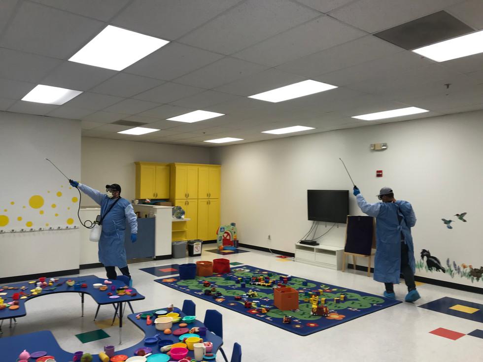 School Disinfecrion service