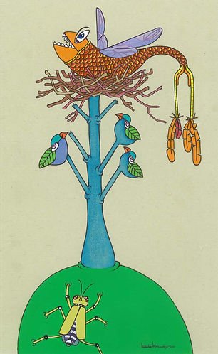 """On a Fruitful Hill"" PRINT"