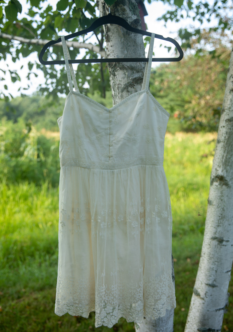 American Eagle White Dress