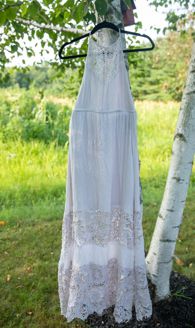 LuLu's White Maxi Dress