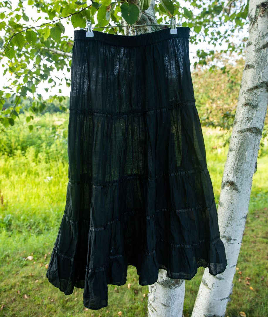 White Stag Black Skirt