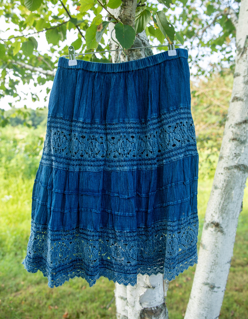 Studio West Apparel Denim Skirt