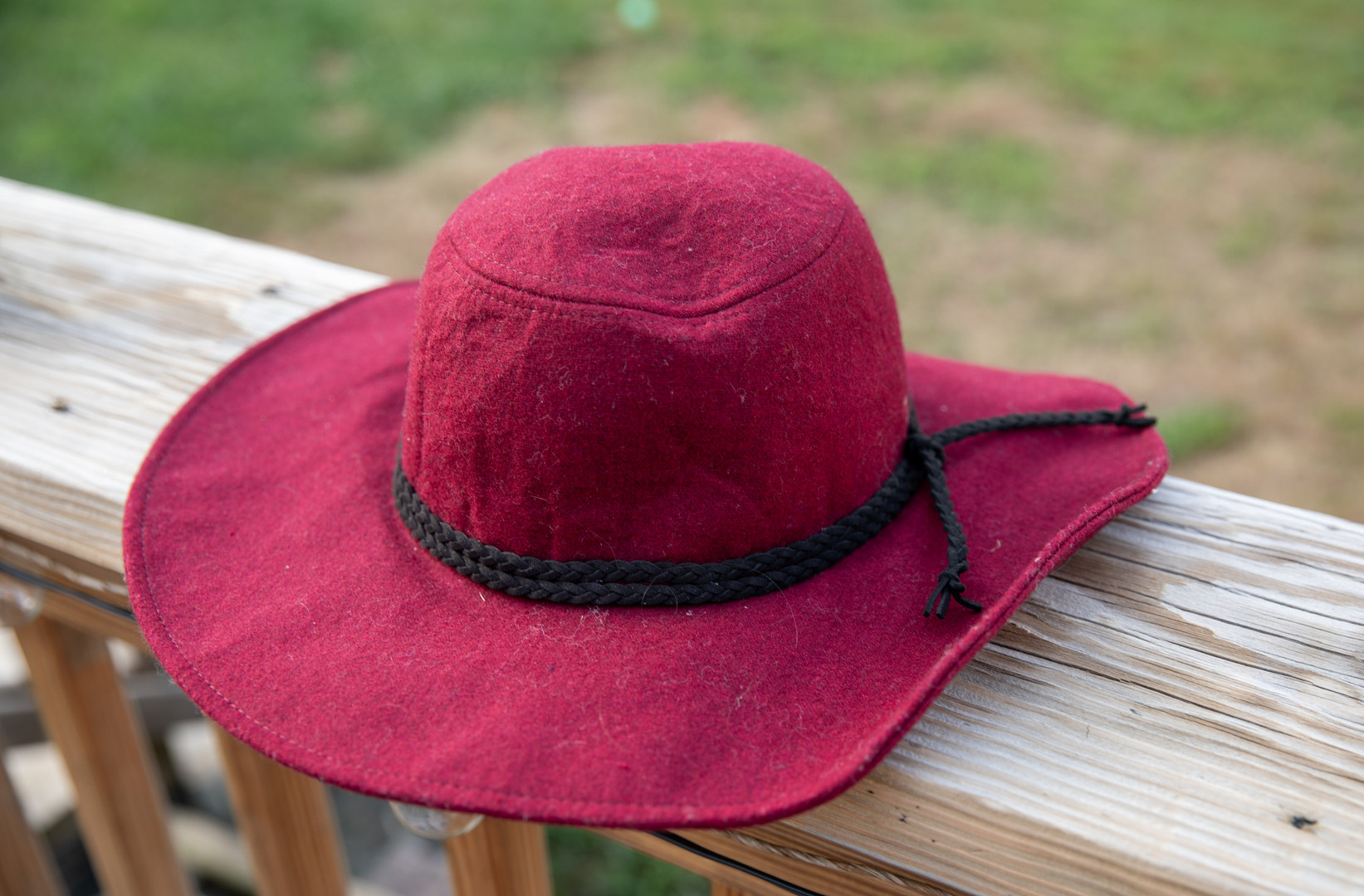 Marroon Floppy Hat