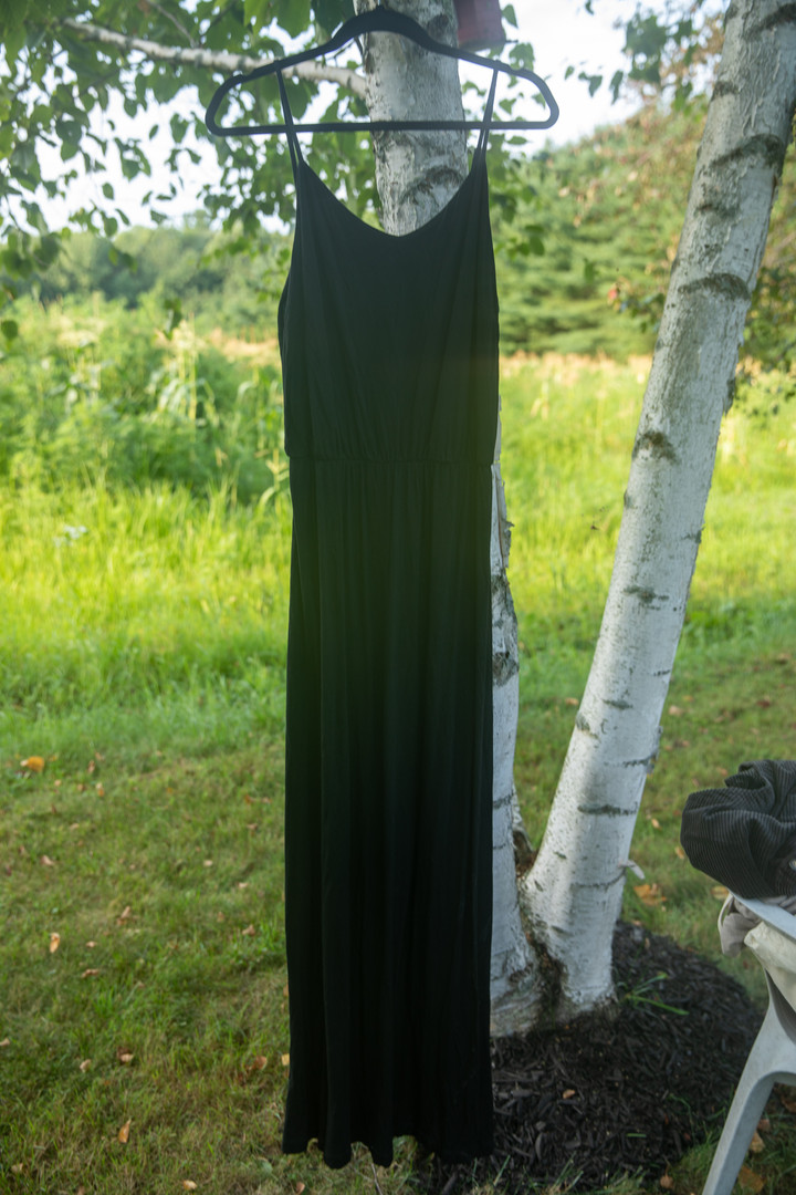 Gap Black Maxi Dress