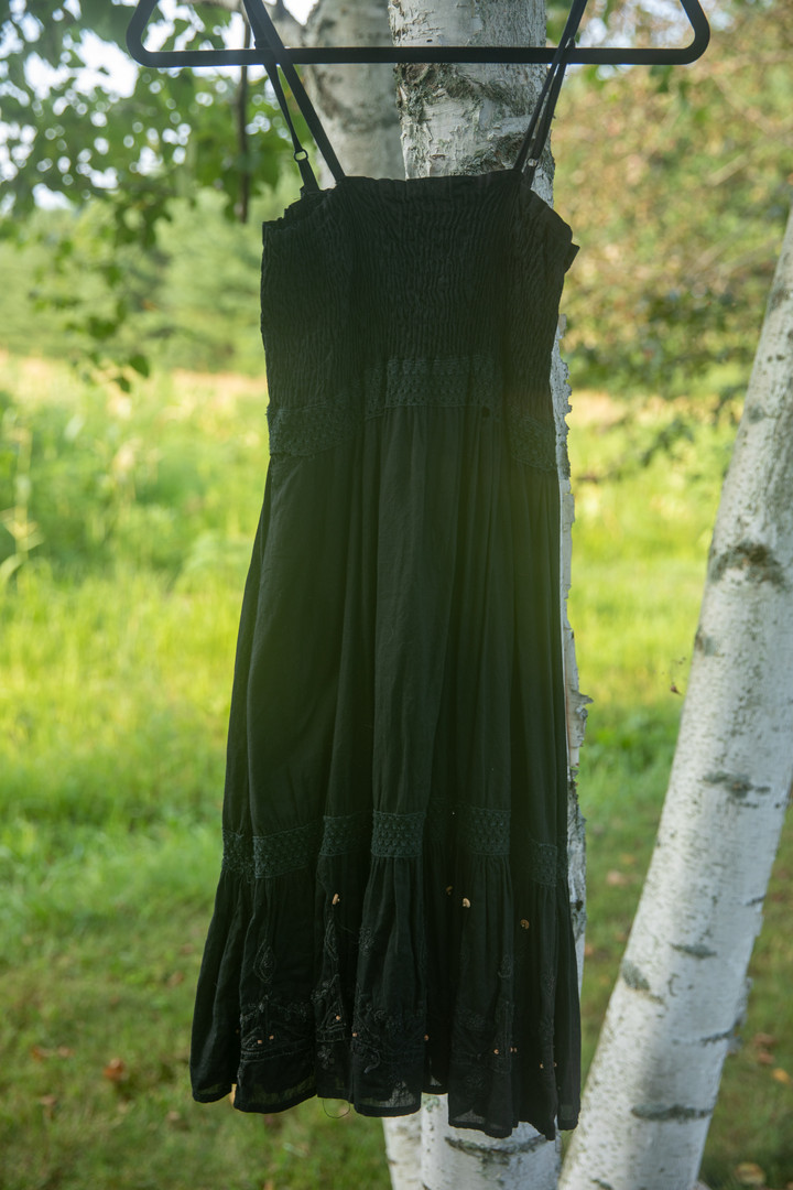 Raviya Black Sun Dress
