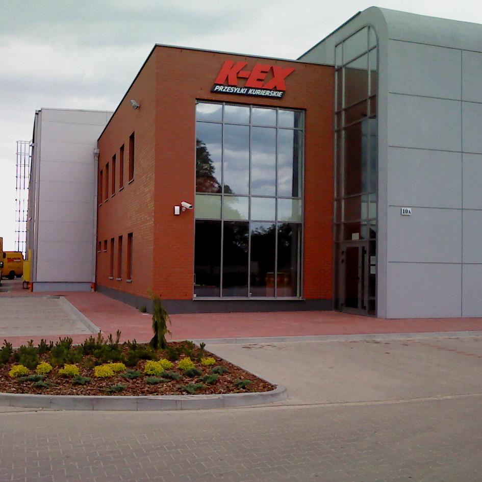 Budynek K-EX Szczepankowo