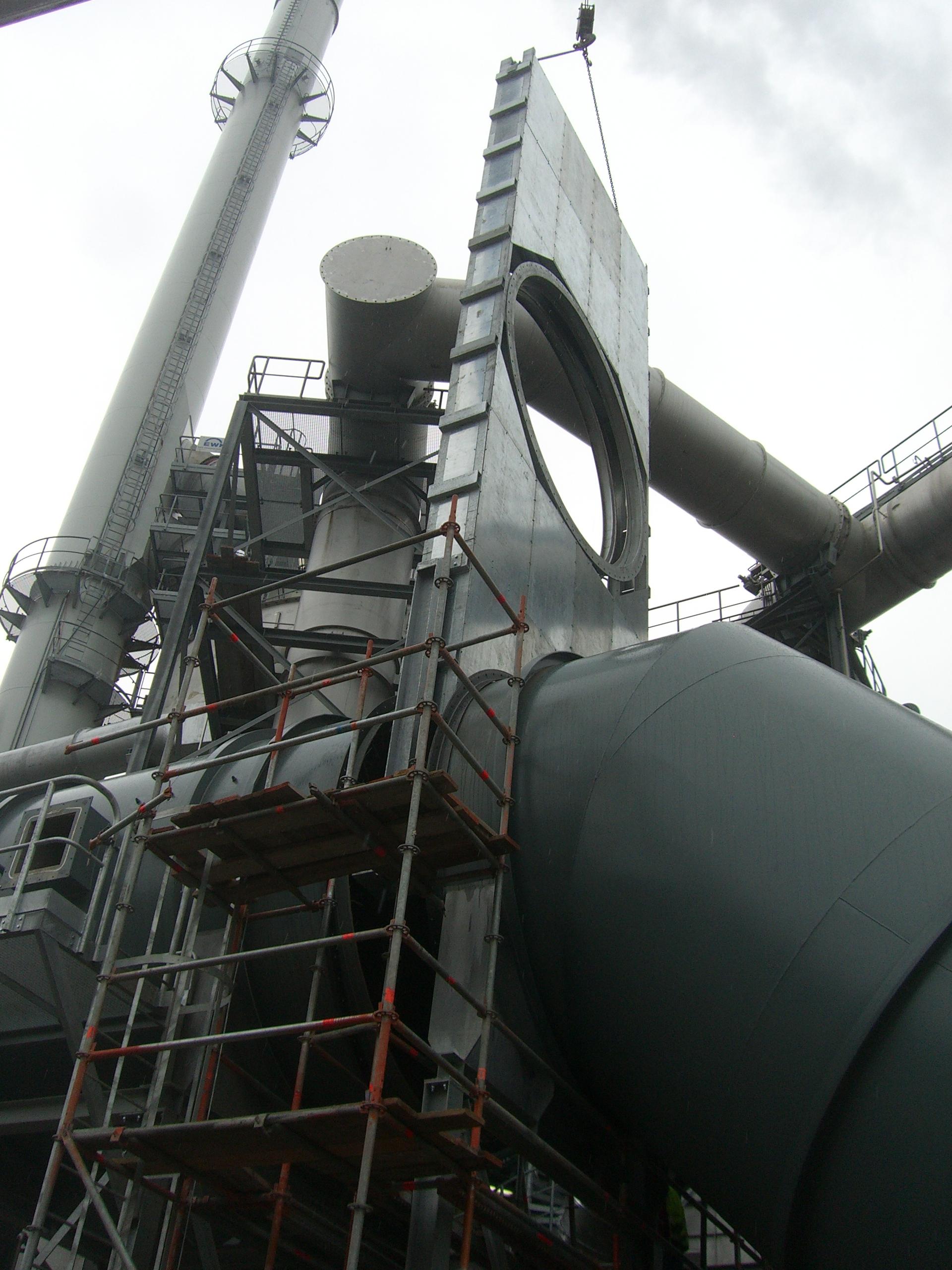 Hot Gas Slide