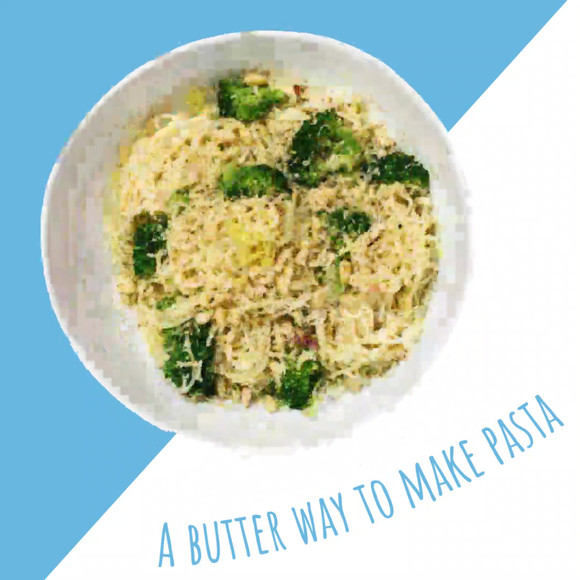A butter way to make pasta
