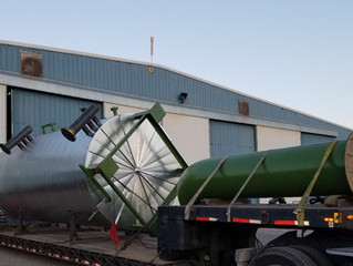 Wech Tech Completes Largest Thermal Fluid Cooler Fabrication