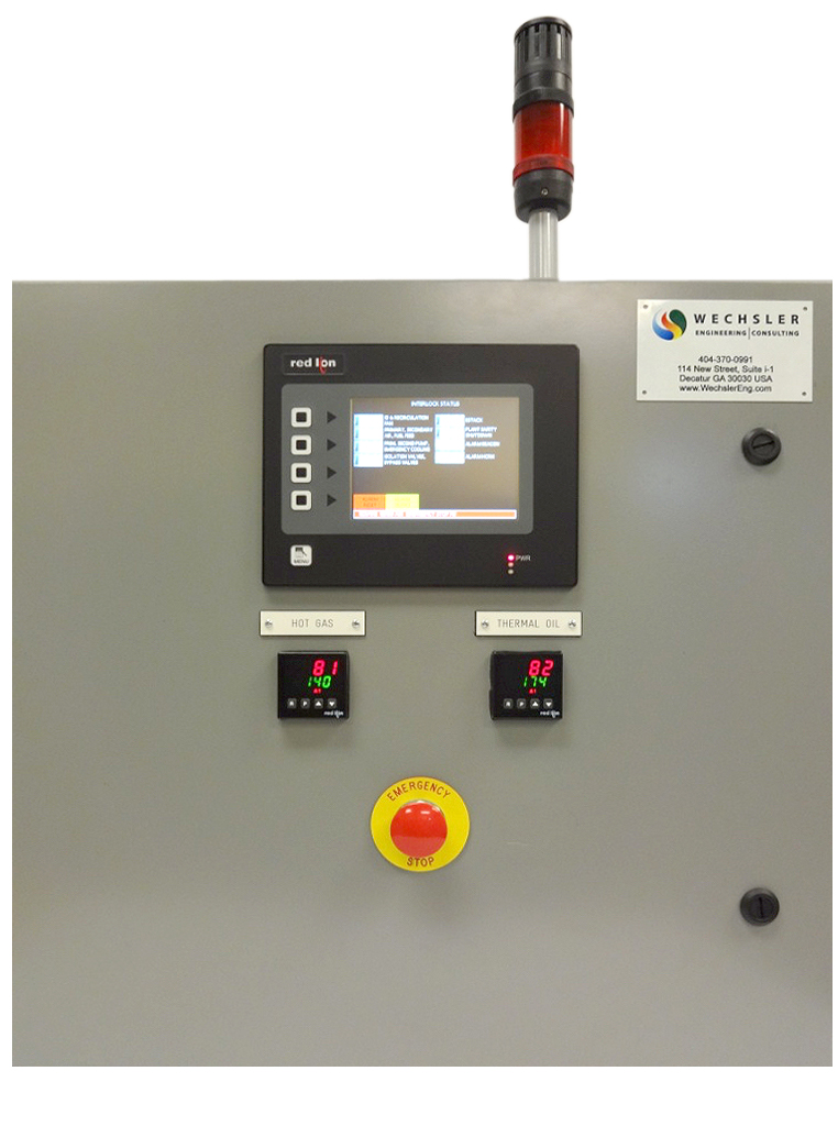 Thermal Oil Safety Interlock Panel