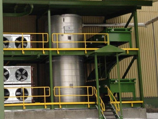 Wech Tech Furnishes It's Largest Thermal Fluid Cooler