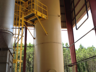 New Thermal Oil Storage Drain Tank for Immediate Availability