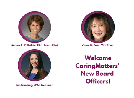 Welcome Our New Board Officers
