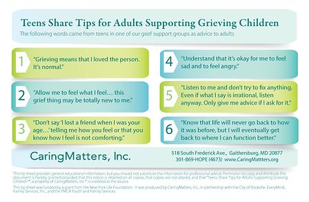 grieving children support