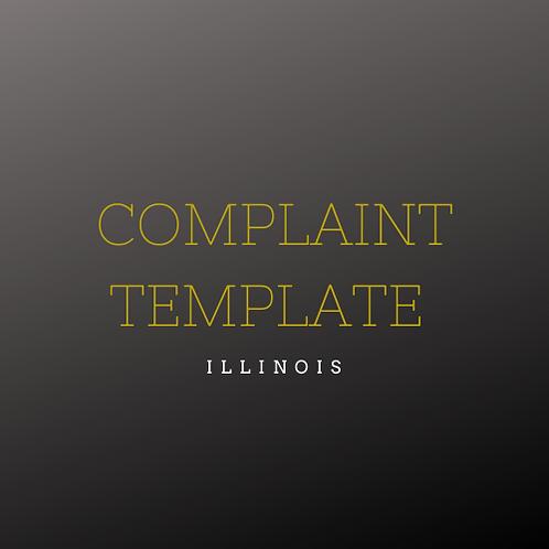 Complaint Outline