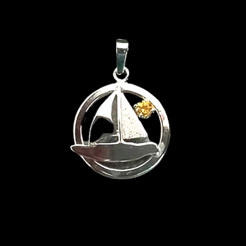 Sailboat with Stone