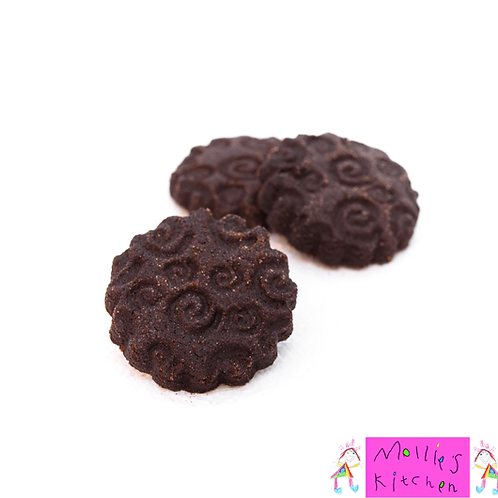 Mollies Kitchen Mini Chocolate Cookies - Pack of 3