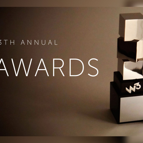 """""""A Curious Mind"""" wins Gold at the 2018 W3 Awards!"""