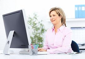 bigstock-Pretty-business-woman-working--